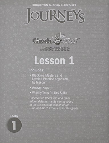 Journeys: Grab and Go Complete Set Grade 1