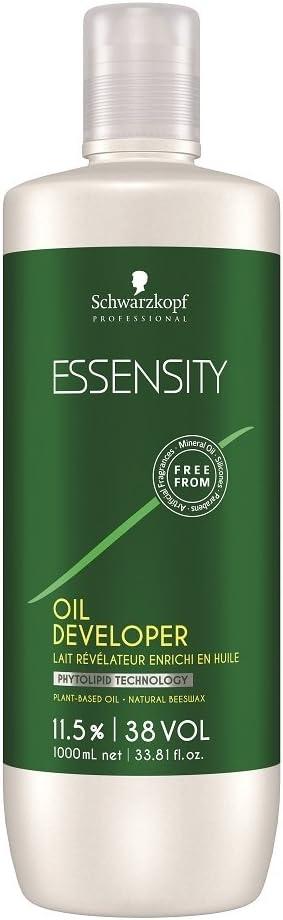 Schwarzkopf Essensity Oil Developer- 11.5% / 38 Volume- 33.8 oz by Schwarzkopf Professional