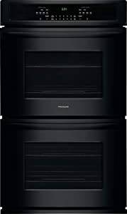 Frigidaire FFET3026TB 30 Inch 4.6 cu. ft. Total Capacity Electric Double Wall Oven with 4 Oven Racks, in Black