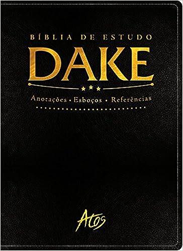 Book Bíblia de Estudo Dake. Preta Clássica