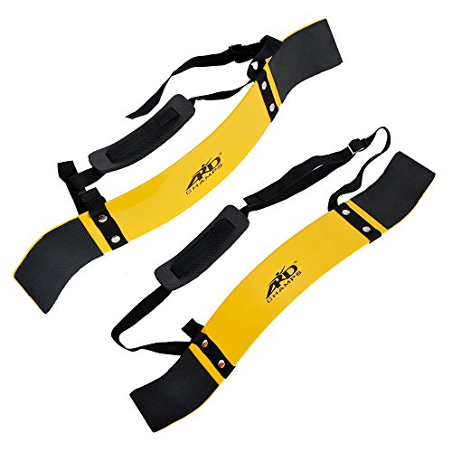 ARD CHAMPS Heavy Duty Arm Blaster Body Building Curl Triceps Yellow