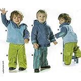 burda infant & toddlers Jacket, Top, Pants Pattern 9716, Sizes 6,9,12,18 months & Size 2,3