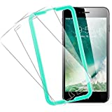 iPhone 7 Plus Screen Protector, ESR iPhone 7 Plus Screen Protector Tempered Glass Scratch Proof Easy to Install High Definition Ultra Clear Protector for 5.5 inches iPhone 7 Plus _2 Pack