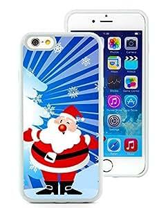 Personalized iPhone 6 Case,Santa Claus White iPhone 6 4.7 Inch TPU Case 35