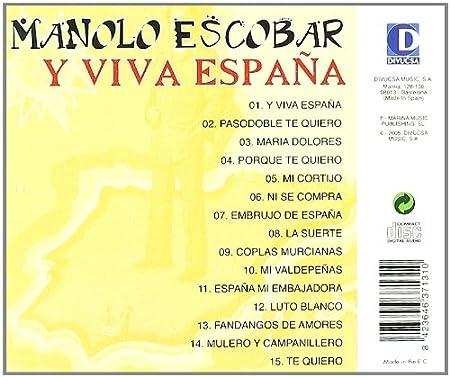 Y Viva España : Manolo Escobar: Amazon.es: Música
