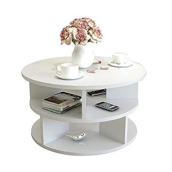 Amazon De Xia Runder Couchtisch Side End Sofa Tisch Wohnzimmer