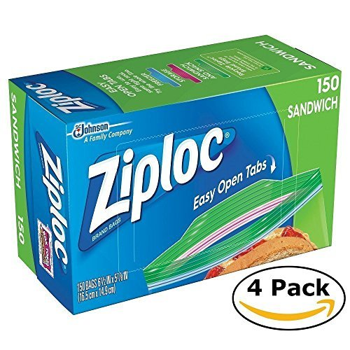 Mega Value Ziploc Sandwich Bags (600 bags) by Ziploc