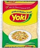 Farinha de Mandioca torrada, YOKI, manioc torréfié sac de farine, 500 g.