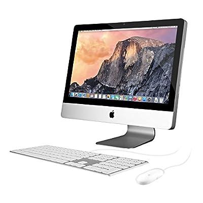 "Apple iMac MC978LL/A All-in-One Desktop Computer - 21.5"" Full HD Display, Intel Core i3 3.1GHz, AMD Radeon HD 6750M (Certified Refurbished)"