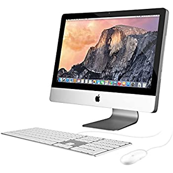 "Apple iMac MC978LL/A All-in-One Desktop Computer - 21.5"" Full HD Display, Intel Core i3 3.1GHz, AMD Radeon HD 6750M (Certified Refurbished)"