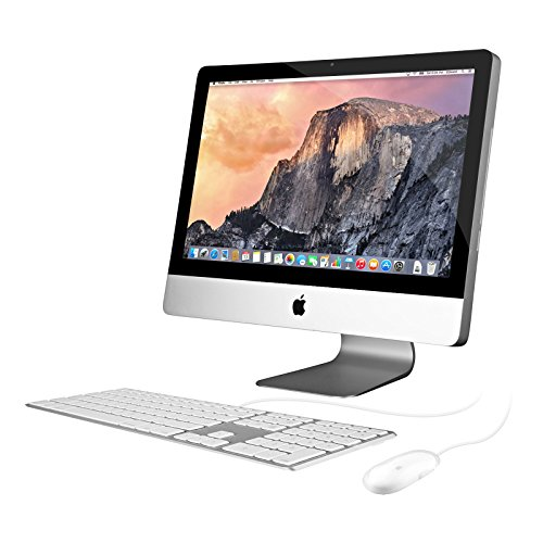 Apple iMac MC978LL/A 21.5in Desktop Computer - Silver for sale  Delivered anywhere in USA