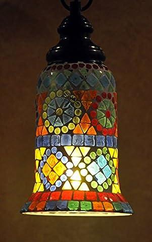 Living Room Decorative Ceiling Lampshade Vintage Hanging Lamp (Filigrana Pendente Di Montaggio)