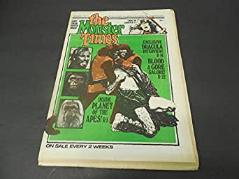 The Monster Times #11 June 14 1972 Dracula Interview