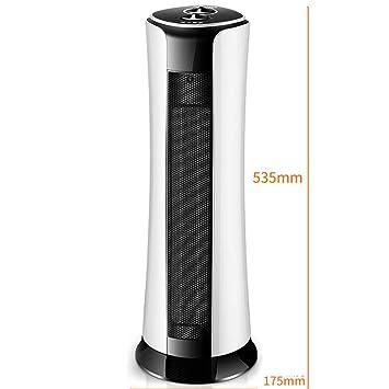 DW&HX Oscilante Ventilador del Calentador para el hogar Cuarto de baño con Control Remoto, Electrico