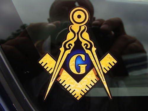 Masonic sticker