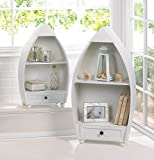Rowboat Curio Cabinets