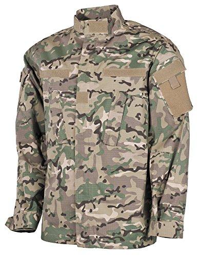 Men's US Ripstop ACU MFH Operation Camo Field Jacket AqdF5wnx