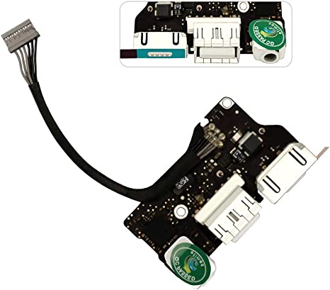 2014 2015 DC Power Jack Board Charging Port Connector for Macbook Air A1466