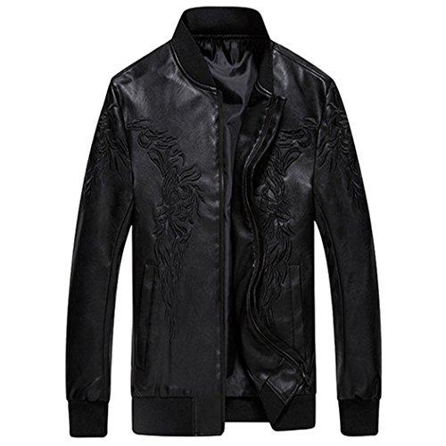 versión florales coreana flores chaqueta de Plantar negro casual XL chaqueta la sello plantas marea qR4zpztZW