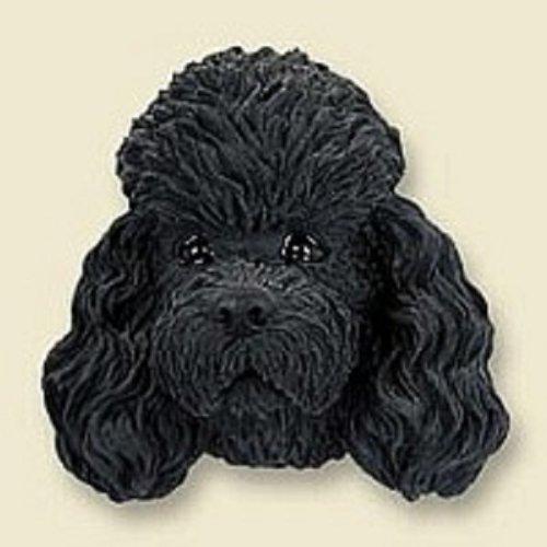 Poodle Black w/Sport Cut Magnet