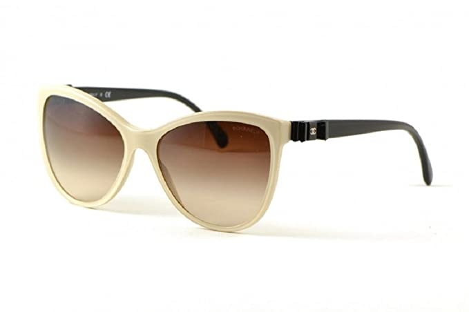 Gafas de Sol Chanel CH5281Q CREAM/BROWN GRADIENT: Amazon.es ...