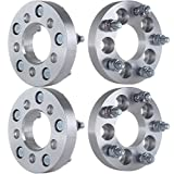 "ECCPP 4PCS Wheel Spacers 5 lug 1"" 25mm 5x100 to 5x114.3 12x1.5 studs for Toyota Pontiac Chrysler Dodge Plymouth Chevy Trucks"