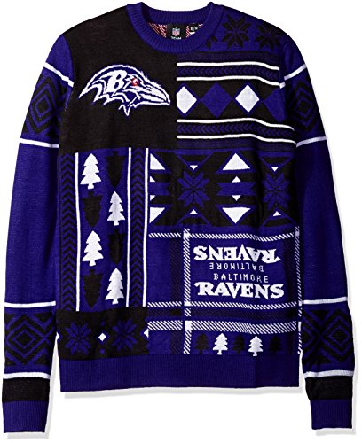 Baltimore Ravens Ugly Sweater Ravens Christmas Sweater