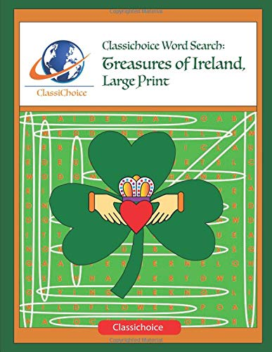 Pdf Travel Classichoice Word Search: Treasures of Ireland, Large Print