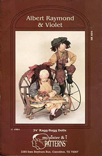 my-sister-i-pattern-sr604-albert-raymond-and-violet-24-inch-ragg-bagg-dolls