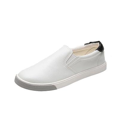 OHQ 2018 Chaussures DéContractéEs Respirantes Plates De Sneakers Noir Vert  Rouge Femmes Dames Sport Bout Rond Plate-Forme Talon Plat Glisser sur des  Homme ... 9245aa1f5165