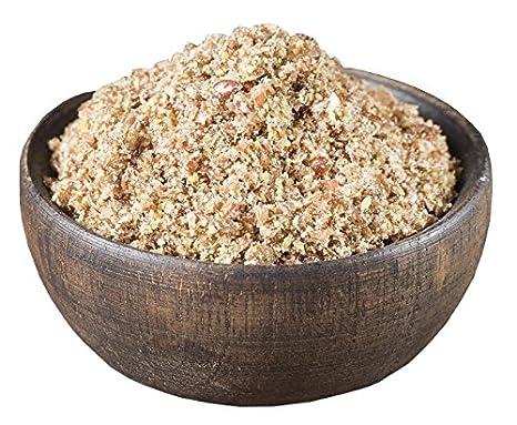 Pride Of India prima para negro de chia harina de harina de semilla de frío molida omega3 y fibra súper, 1 libra (16 oz) tarro: Amazon.es: Alimentación y ...
