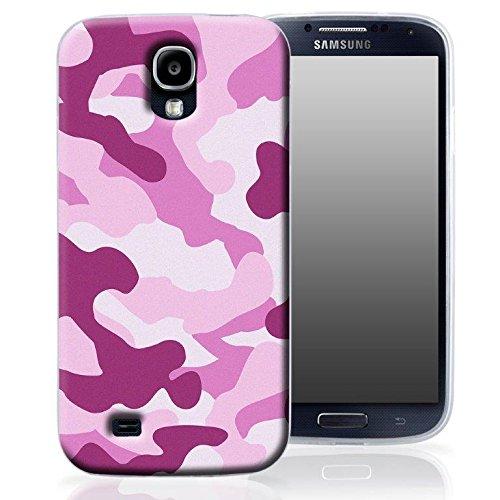 """Silikon TPU Handy Back Case Cover Schale Tarnfarben pink für """"Apple Iphone 5"""" Schutz Hülle Bumper Cover Tasche Etui"""