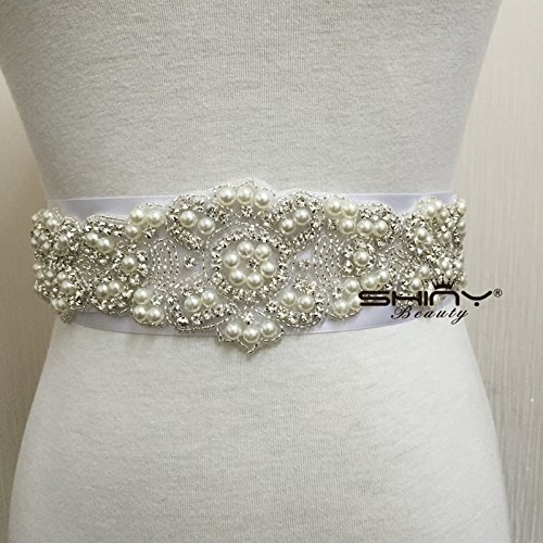 Crystal Wedding Bridal Dress Belt