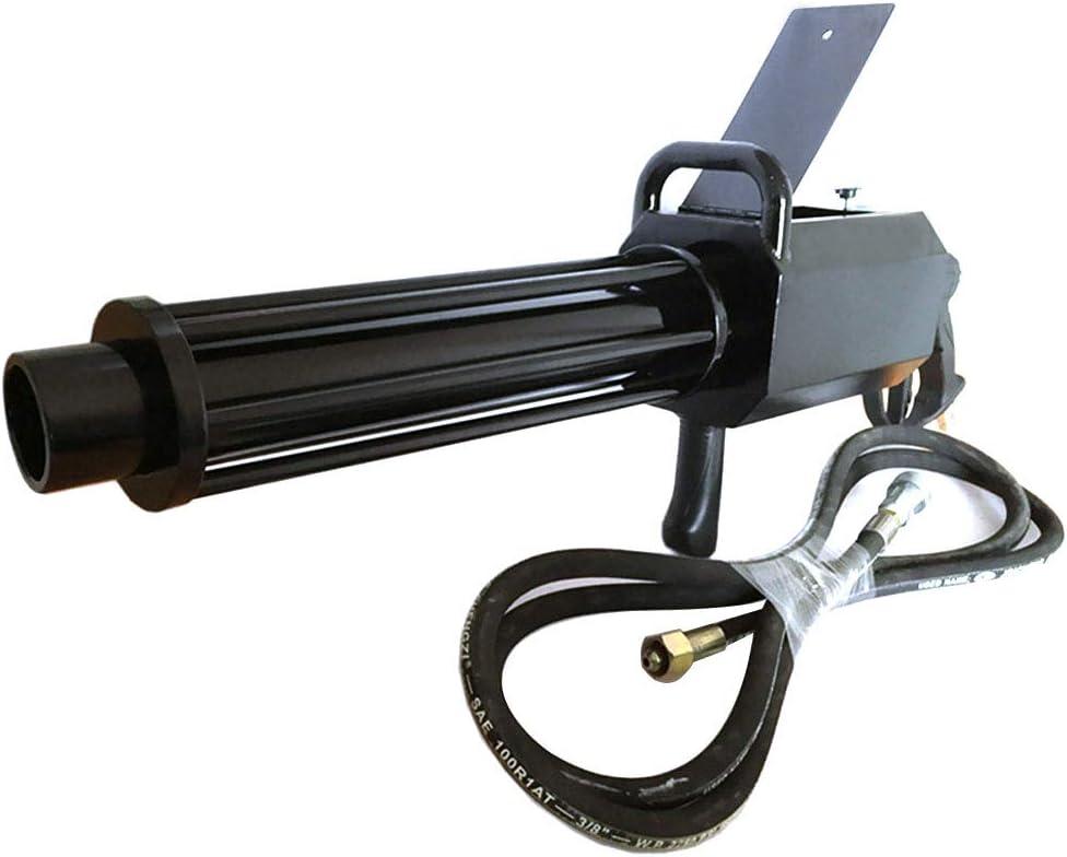 SJTL DMX Potente Máquina de Confeti Máquina de Humo Lanzador de Cañón de Confeti Lanzador de Confeti Profesional de Tiro Usado para Bodas Vacaciones Halloween Navidad