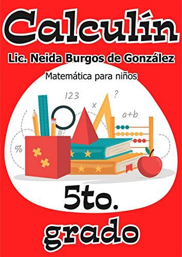 Amazon.com: Calculín 5: Matemática para niños (Spanish ...