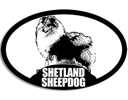 Shetland Sheepdog Silhouette Sticker (Dog Breed) ()