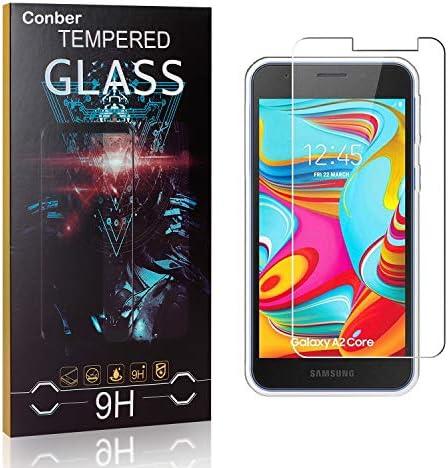 Conber [3 Stück] Displayschutzfolie kompatibel mit Samsung Galaxy A2 Core, Panzerglas Schutzfolie für Samsung Galaxy A2 Core [9H Härte][Hüllenfreundlich]