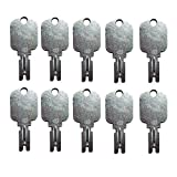 Mover Parts (10) Forklift Key for Clark Yale Hyster Komatsu Gradall Gehl Crown & More 166: more info