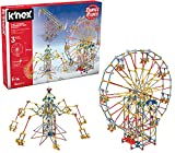 K'Nex 3-in-1 Classic Amusement Park Building Set with Motor, 744 Pieces