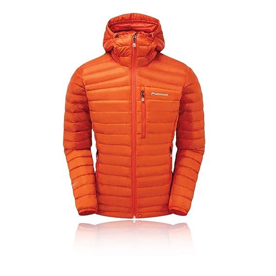c77b2f407982d Montane Featherlite Down Jacket - SS19 Orange  Amazon.co.uk  Clothing