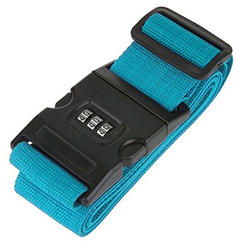 Go Green Rating Scale (My Cross Luggage Strap 90 X 78 Inch Luggage Strap, Blue)