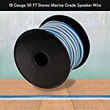 Pyle 18 Gauge Stereo Marine Grade Speaker Wire