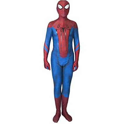 QQWE The Amazing Spider-Man Cosplay Traje Traje De Spandex ...