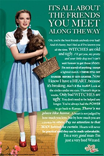 Wizard of Oz Friends Poster