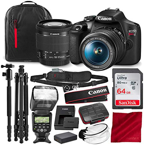 (Canon T7 EOS Rebel DSLR Camera with EF-S 18-55mm f/3.5-5.6 is II Lens and 67