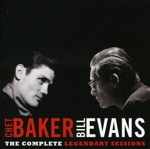 Sessions Cd Album - Chet Baker Bill Evans - The Complete Legendary Sessions