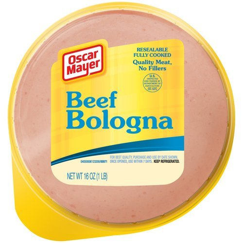 - OSCAR MAYER LUNCH MEAT COLD CUTS BEEF BOLOGNA 16 OZ PACK OF 2
