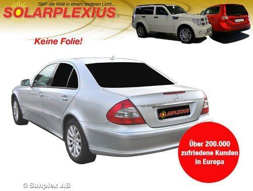 Solarplexius Sunprotection Privacy Tinted Mercedes E Sedan W211 Build 2002 2009 Art 25957e 5 Auto