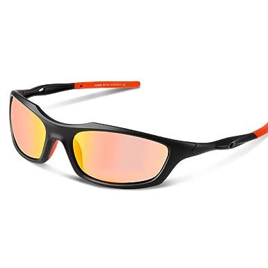 Polarisierte Sportbrille Fahrradbrille UV400 Schutz Autofahren Reise Angeln LYWPFcAP