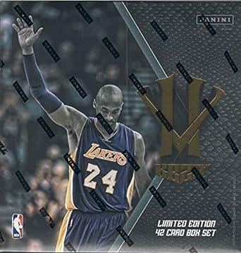 6fa43e2fd4d Kobe Bryant KB20 Hero Villain Limited Edition 42 Card Factory Sealed Set  Highlighting Key Moments in